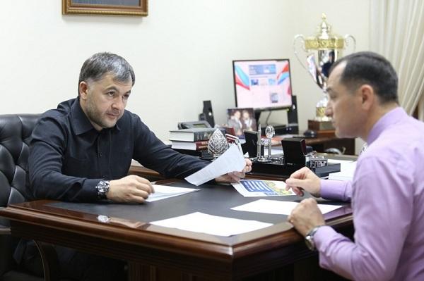 ЧЕЧНЯ. Магомед Селимханов провел прием граждан в Грозном