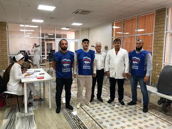 ЧЕЧНЯ. В городе Гудермес Чеченской Республики прошла акция регионального партийного проекта