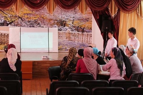 ЧЕЧНЯ. Преподаватели и родители школьников Грозного приняли участие в викторине «Кибер-квиз»
