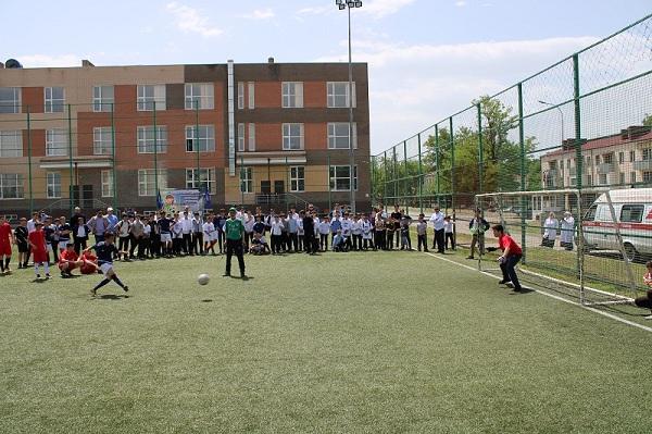ЧЕЧНЯ. В Чеченской Республике стартовал муниципальный этап всероссийского фестиваля «Дворовый футбол»
